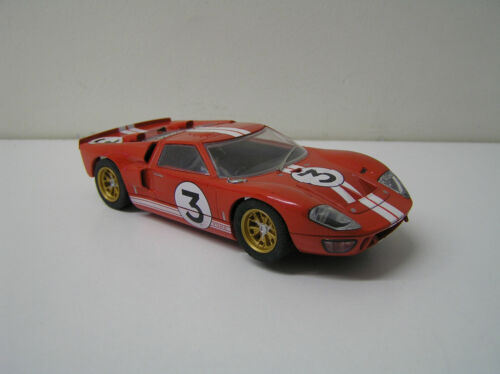 1966 Ford GT 40 Scalextric, 1/32 scale, SCY#3