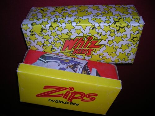 VINTAGE Zips By StrideRite + Whiz Kids By Jumping Jacks EMPTY SHOEBOXES
