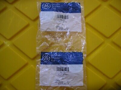 GENUINE GE OEM WD12X10262 White Dishwasher Lower Rack Roller * LOT OF 2 *  ()