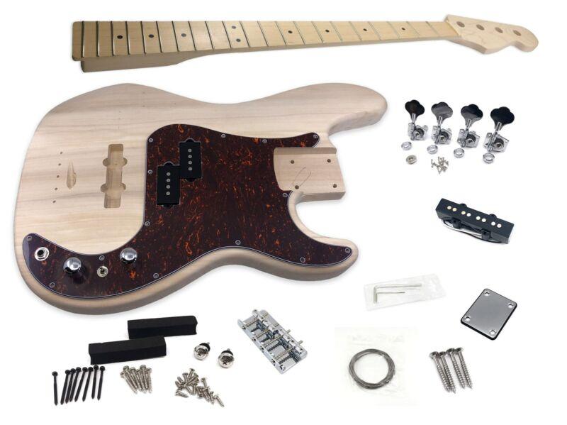 Solo PJBK-10 DIY Electric Bass Guitar Kit