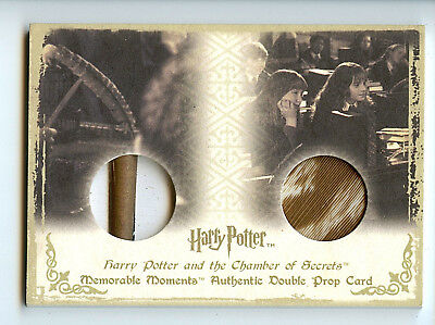 Harry Potter Memorable Moments DP2 Student Wands & Quills Double Prop 79/115