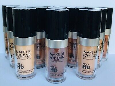 MAKE UP FOR EVER Ultra HD Invisible Cover Foundation SIZE 1.01 oz/ 30 mL(CHOOSE)
