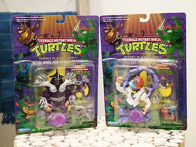 Rare 1994 Playmates Teenage Mutant Ninja Turtles Super Shredder - Baxter Lot