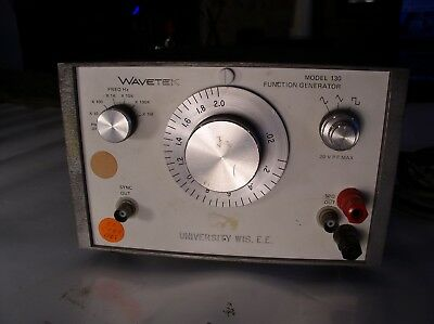 Wavetek Model 130 Function Generator