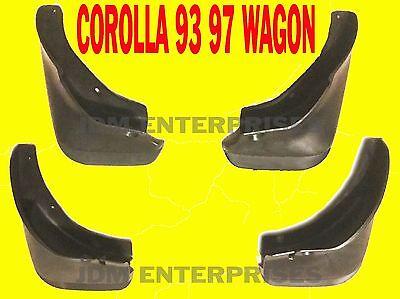 TOYOTA COROLLA 1993-1996 WAGON SPLASH GUARD MUD FLAPS 93 94 95 96 STATION WAGON