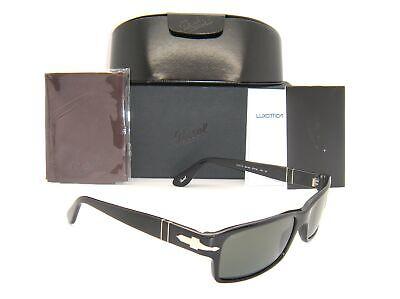 Persol Men's Polarized PO2747S-95/48-57 Black Rectangle Sung