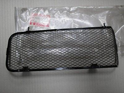 Kawasaki KX 125 KX125 B1 B2 82-83 radiator guard 14037-1002 genuin SLIGHTLY BENT