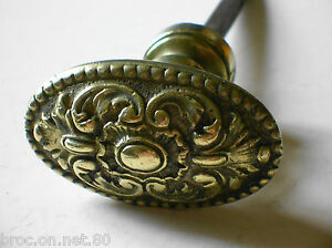 ancienne poignee porte fenetre serrure bronze art deco chateau maison maitre ebay. Black Bedroom Furniture Sets. Home Design Ideas