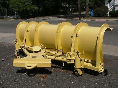 Wausau Heavy Duty Snow Plow Road Plow - 11 Foot - In Nj
