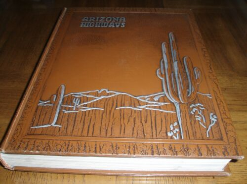 1952 BOUND ARIZONA HIGHWAYS LOT OF 12 - COMPLETE YEAR - JANUARY THROUGH DECEMBER