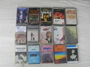 Music cassettes - all good condition