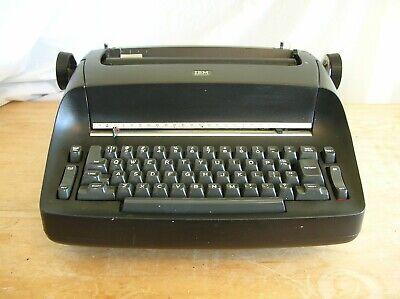 Ibm Selectric 1 Model 72 Electric Typewriter Black As Is