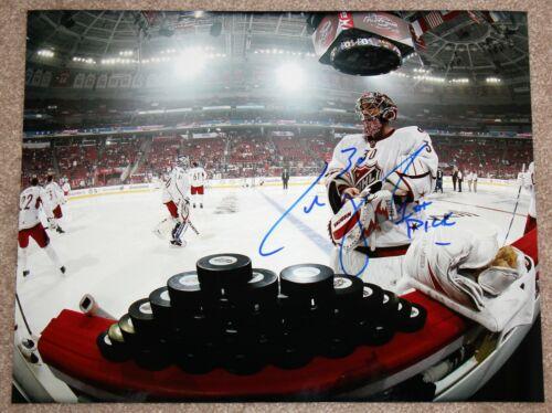 CAM WARD SIGNED 11x14 PHOTO NHL ALL-STAR GAME CAROLINA HURRICANES GOALIE +COA