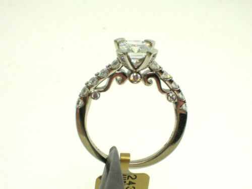 VERRAGIO 18K INSIGNIA INS-7001 SETTING 0.70CT DIAMONDS-SIZE 6.25 US-RETAIL$4850