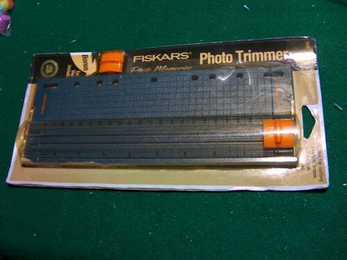 "Fiskars 10""  Personal Paper Photo Craft School Slide Binder Trimmer   3 - 7 Hole"