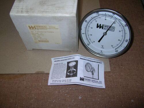 Weiss SF5VBM25-120 Bi Metal Thermometer