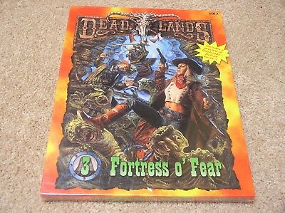 Pinnacle Entertainment Deadlands Fortress O Fear Boxed Set   Sealed