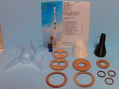 Titan Rocket - Gemini-Titan model rocket parts kit, size BT-70