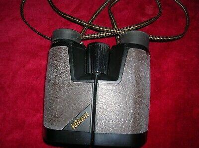 NIKON 10X25 BINOCULARS CAPS & CASE