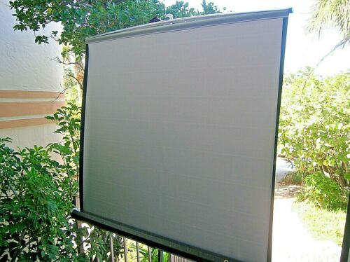 Da-lite Wonderlite Portable Deluxe Movie Slide Power Point Projector Screen 50""