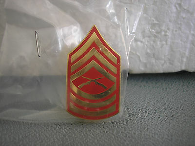 U. S. MARINE CORPS HAT PIN - MASTER SERGEANT  (MSGT)