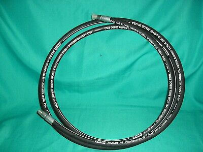 10 Ft Parker Id Hydraulic Hose 302301-4 5800psi 1436-12sn6.3mm14x2w
