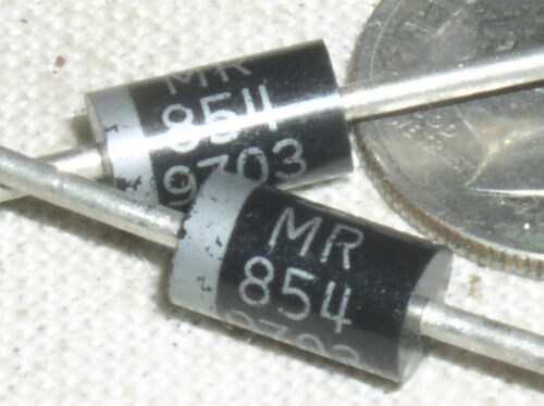 5 MOTOROLA MR854 MR 854 400 V 3 A AMP FAST POWER RECTIFIER DIODE 100 A PEAK USA