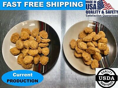 Freeze Dried Panko Breaded Chicken Nuggets Camping Hiking Survival Storage Food
