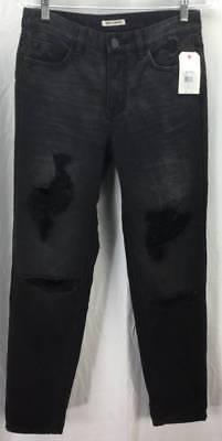 Billabong Womens Jeans Size 25 Black Skinny HI RISE Denim Jeans Stretch New 5102
