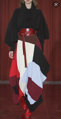 Roksanda Caldra Colour Block Runway Skirt Size 10