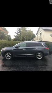 Infiniti JX35 2013 AWD cuir toit roof panoramic 4winter tires