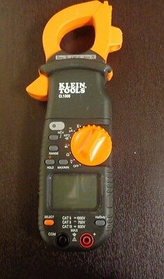 Klein Cl1000 400 Amp Ac Digital Clamp Meter --z