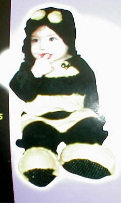 Bumble Bee Infant Costume Size 0-9 Months
