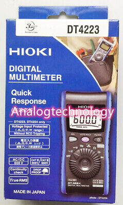 Hioki Dt4223 Digital Multimeter With Resistance Measurement Usa Ship