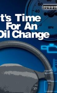 We do oil changes