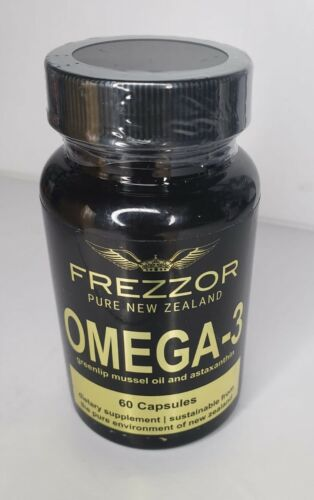 🔥Frezzor OMEGA- 3 Pure New Zealand Greenlip Mussel Oil & astaxanthin