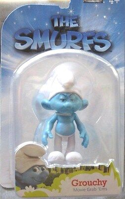 NEW The Smurfs Series 1 Grouchy Smurf Action Figure