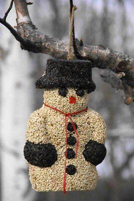Mr. Sno E. Mann Wild Bird Seed by Pine Tree Farms snowman Bird Food