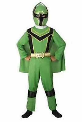 RARE,RARE RARE Power Rangers Green Mystic Force Child Boy SIZE: 4-6 ()