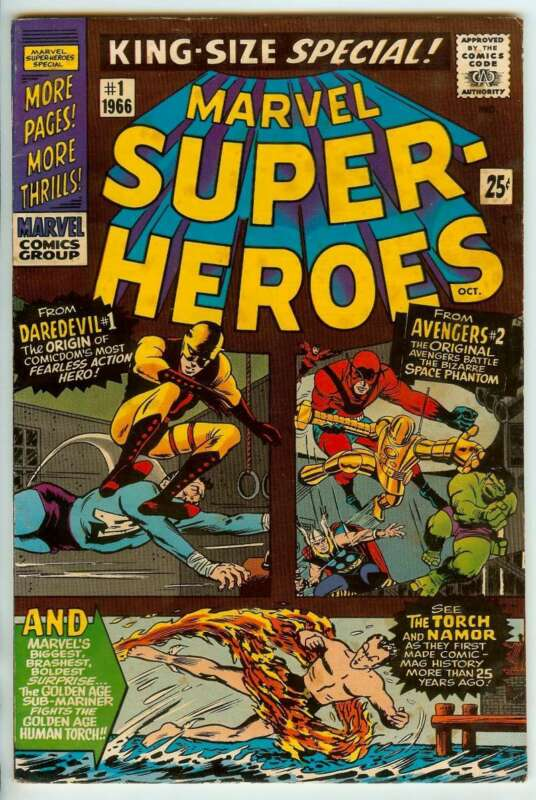 MARVEL SUPER-HEROES #1 8.0