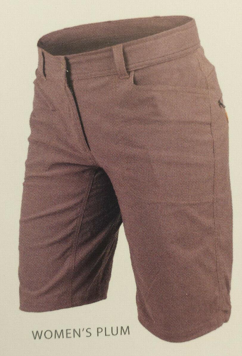Röjk Atlas Shorts Woman kurze Hose Aubergine XS S M L Outdoorhose Outdoor Pant