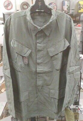Vietnam Era Reproduction Slant Pocket BDU Shirt  Medium  NEW