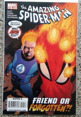 The Amazing Spiderman #591 - NM or better