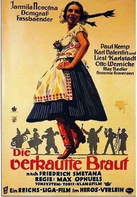 - BARTERED BRIDE, 1932, Jarmila Novotná, Max Ophuls, Smetana Opera: DVD-R Region 2