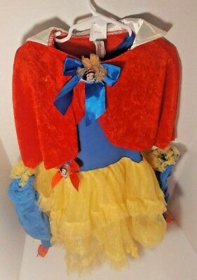 Disney's Snow White Princess Dress Costume Girls Size XS Size 4