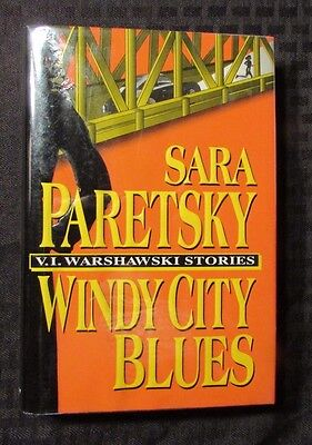 S Sara Paretsky HC/DJ NM/VF+ Delacorte (Windy City Dj)