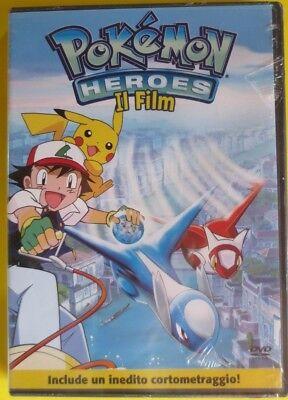 POKEMON HEROES -IL FILM- Z3 ologramma rettangolare - DVD nuovo sigillato [dv50]
