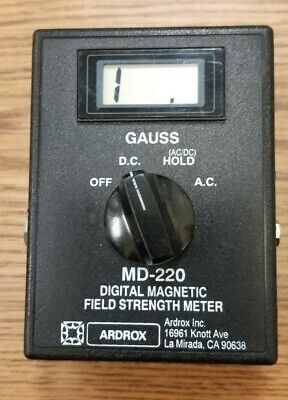 Gould-bass Md 220 Hall Gauss Meter Ndt Magnetic Particle Inspection Magnaflux N3