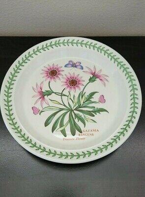 "Portmeirion Botanic Garden Treasure Flower Salad Plate 8.5"""