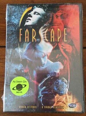"New Farscape Sci Fi DVD ""Durka Returns & A Human Reaction"""